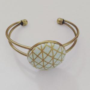 gold türkis geometrisch