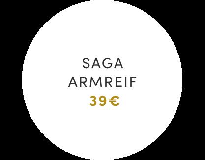 Saga Armreif Preisschild